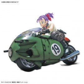 Dragonball Z Bulma's Variable No.19 Bike Figure-rise Mechanics