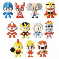 Megaman Rockman 3D Figural Keyring Collection