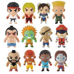 Street Fighter 3D Figural Keyring Collection