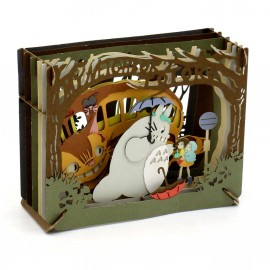 "Mon Voisin Totoro Paper Theater ""Mysterious Encounter"""