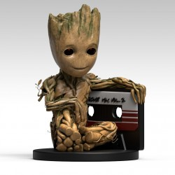 Guardians of the Galaxy Baby Groot Bank Figure