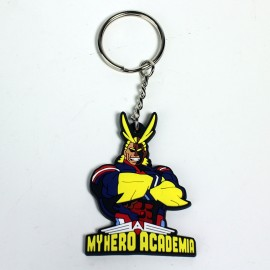 My Hero Academia All Might Rubber Keychain / Porte-clés PVC