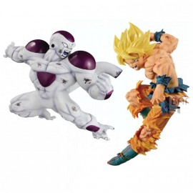 Dragonball Z Match Makers Figurine Full Power Freezer & SS Son Goku