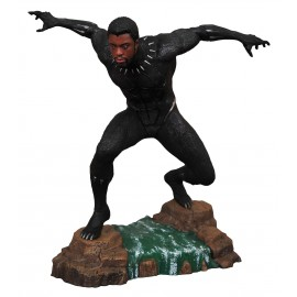 Marvel Gallery Black Panther Unmasked Ver PVC Statue