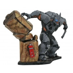 Marvel Gallery Spider-Man PS4 Rhino Deluxe PVC Statue