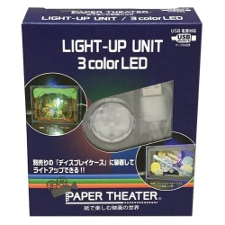 Paper Theater Lampe LED 3 Couleurs
