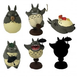 Mon Vosin Totoro Collection 02 Figurines Totoro (Boîte de 6 figurines)
