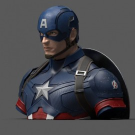 Avengers Endgame Captain America Tirelire Bust Bank