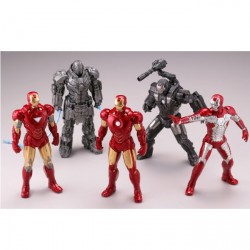 Iron Man 2 Armor Collection Vol.2 (Collection complète de 5 figurines)