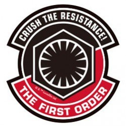 Star Wars The Force Awakens Autocollant Crush The Resistance