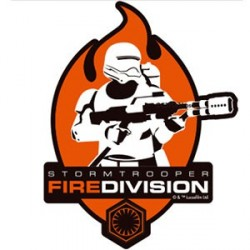 Star Wars The Force Awakens Autocollant Stormtrooper Fire Division