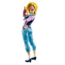 Dragonball Z SCultures Colosseum 6 Vol.1 Android C-18 Figurine