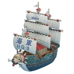 One Piece Grand Ship Collection 08 Maquette Garp Warship