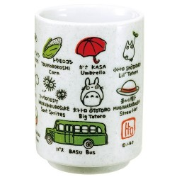 Mon Voisin Totoro Japanese Tea Cup Line Up