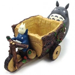 Mon Voisin Totoro Tricycle Forest Diorama / Pot