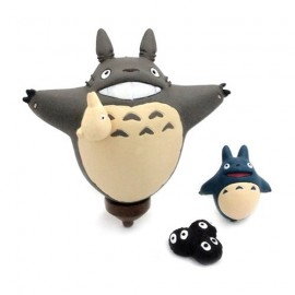 Mon Voisin Totoro Mini Magnet set Ride on Totoro