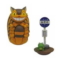 Mon Voisin Totoro Set de 2 Figurines Chatbus Bus Stop Culbuto