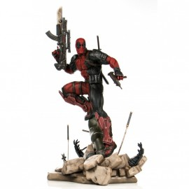 Deadpool 1/6 Scale Statue Semic PrototypeZ by Erick Sosa