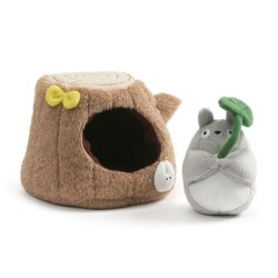 Mon Voisin Totoro Tree Trunk Peluche Playset
