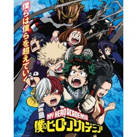 My Hero Academia Season 2 Mini Poster (50 x 40 cm)