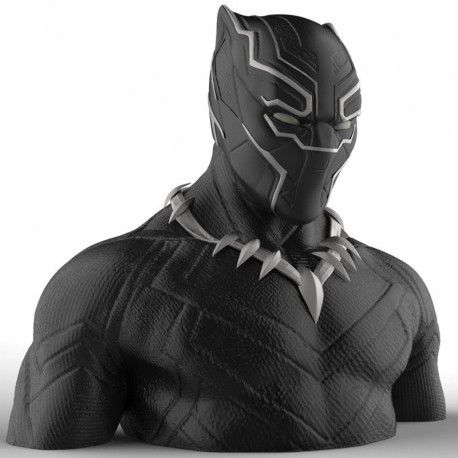 Black Panther Tirelire Deluxe Bust Bank