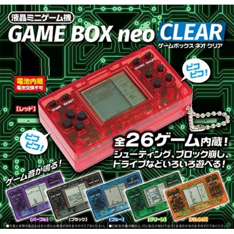 Jeu Video Game Bow Neo Clear Ver. LCD Mini Game Portatif