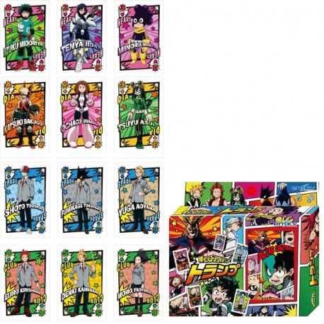 My Hero Academia Cartes à Jouer / Playing Cards