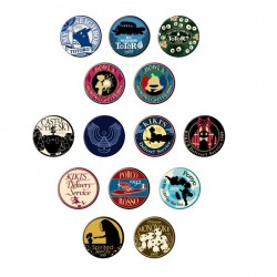 Studio Ghibli Badges Collection Vol.2