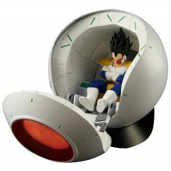 Dragon Ball Z Vegeta Saiyan Space Pod Figure-rise Mechanics